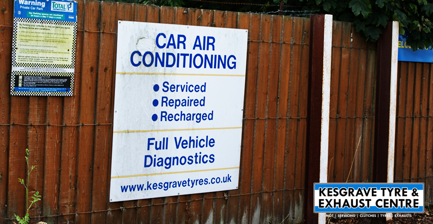 Kesgrave Tyre and Exhaust Centre provide Air Conditioning Tests